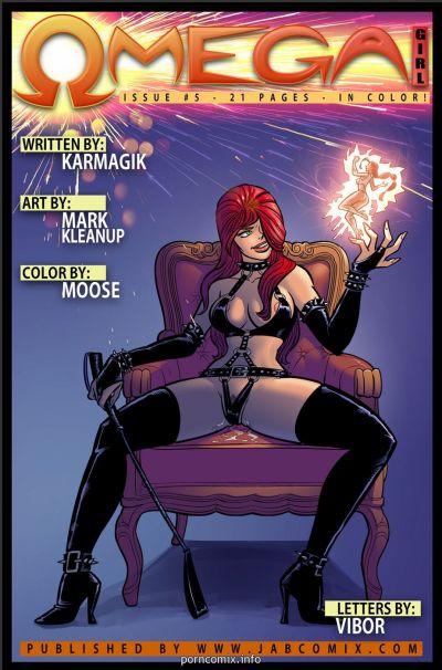 Jab Comix- Omega Girl 5