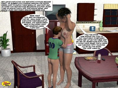 Mom and Son Pool Side- 1st timer - part 5